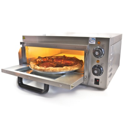 Single Deck Stone Base Pizza Oven 2Kw