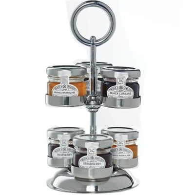 Jam Pot Tree Stand, Holder For Jam Jars, Marmalade & Chutneys.