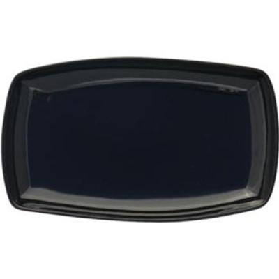 Simply Black Rectangular Plate 29cm