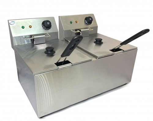 Electric 8 Litre Double Deep Fat Fryer