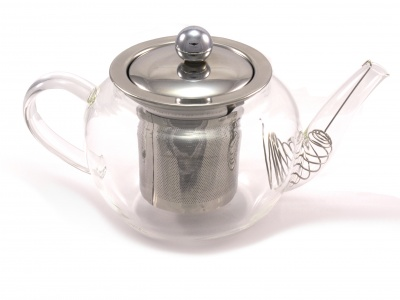 Chef-Hub Glass Teapot With Infuser 600ML