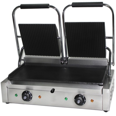 Chef-Hub Electric Double Contact Grill / Panini Grill
