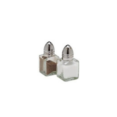 0.5oZ Cube Mini Salt / Pepper Shakers Pack of 36