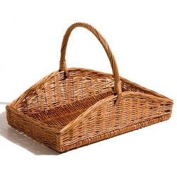 Chef-Hub Tapered Willow Basket Pack of 1