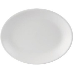 Simply Oval Plate 24.5x19cm