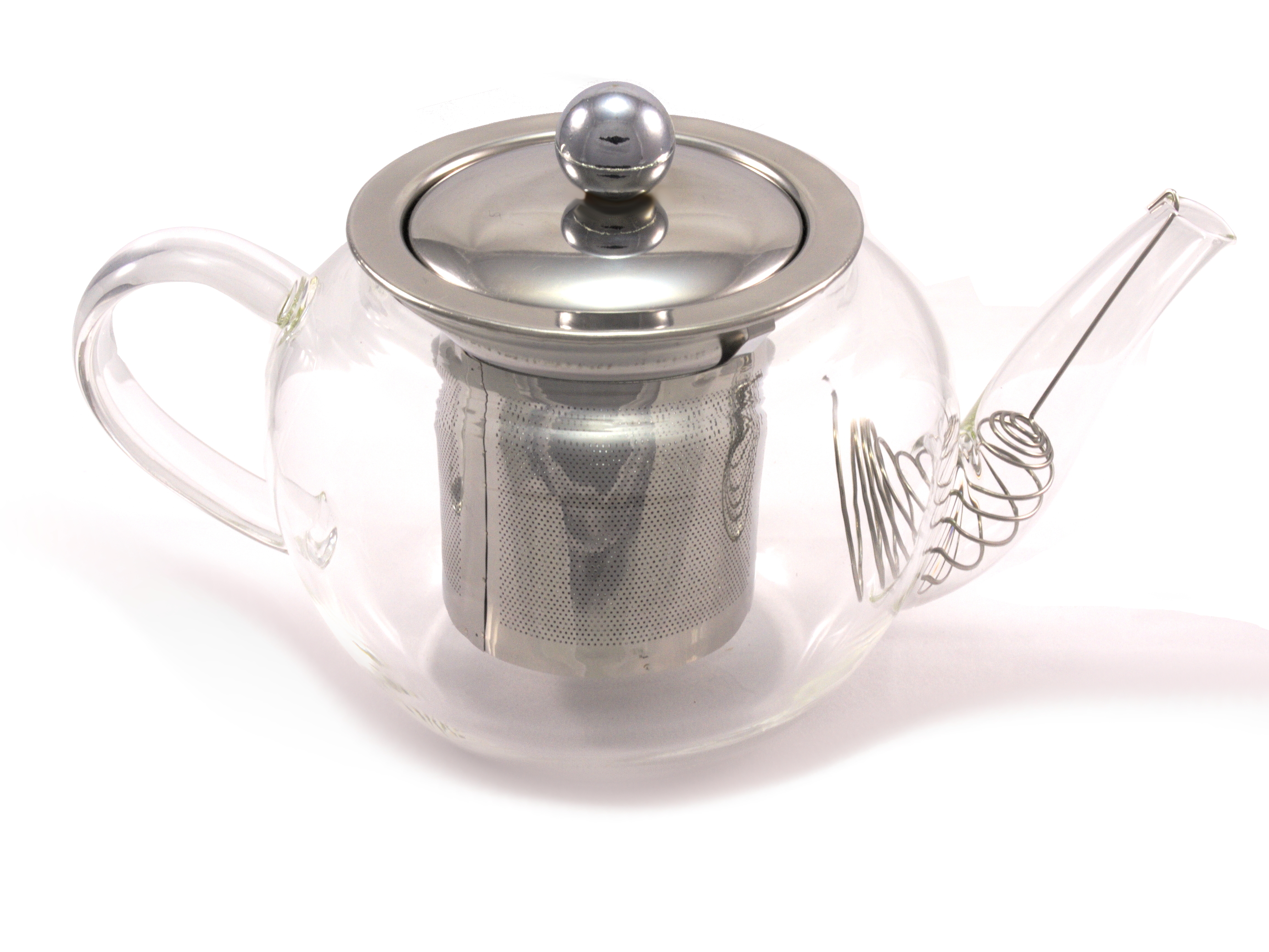 CHEF-HUB GLASS TEAPOT WITH INFUSER 400ML