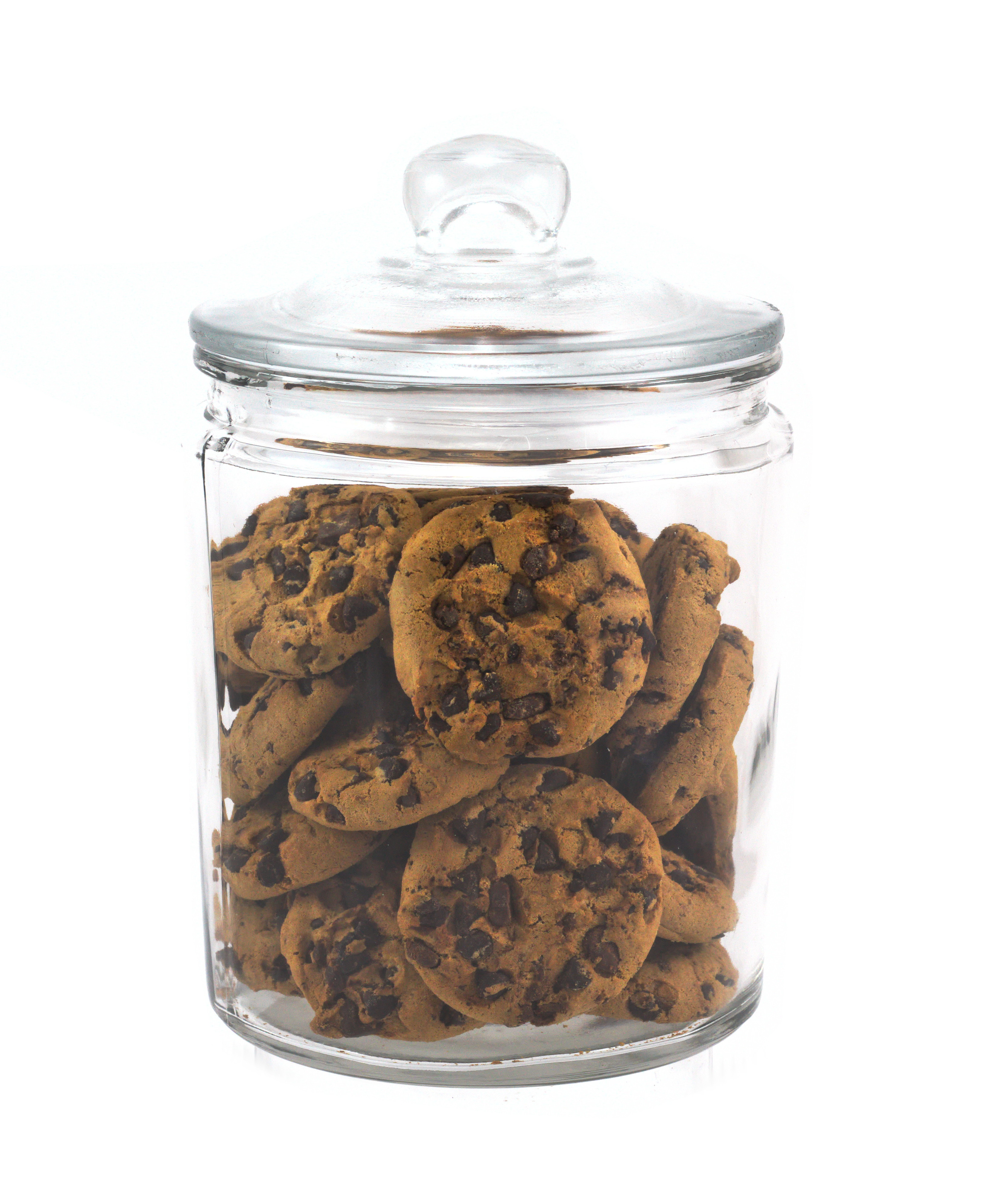 Chef-Hub Glass Biscotti Storage Jar 1.9L