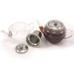 Glass Teapot With Infuser 600ML