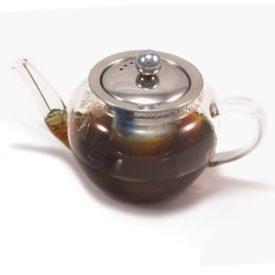 Glass Teapot With Infuser 400ml