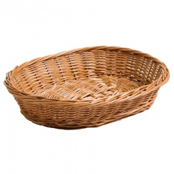 Chef-Hub Wicker Oval Basket