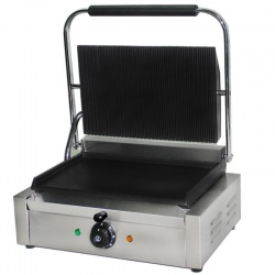 Chef-Hub Electric Extra Wide Contact Grill / Panini Grill