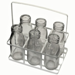 Mini Milk Bottle Set 100ml