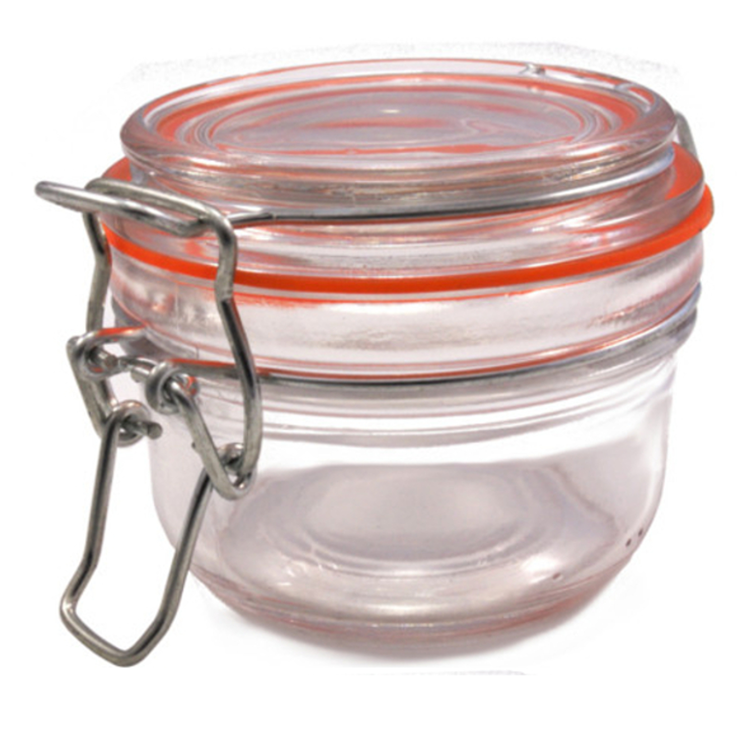 Chef-Hub 125ml Clip Top Terrine Storage Jar With Airtight Lid