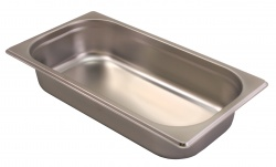 1/3 STAINLESS STEEL GASTRONORM PAN