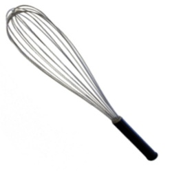 WHISK - 8 WIRE WITH NYLON HANDLE 25cm